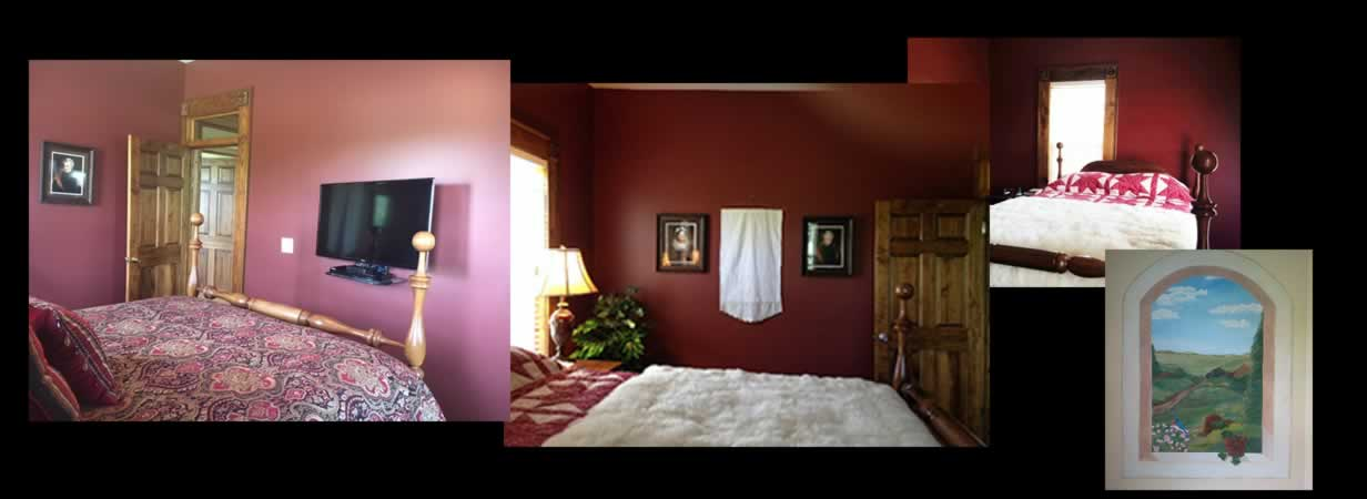 The Andrew Jackson Room, Iron Banks Lodge Bed & Breakfast